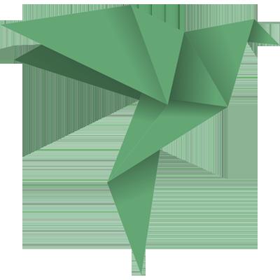 Origami madár