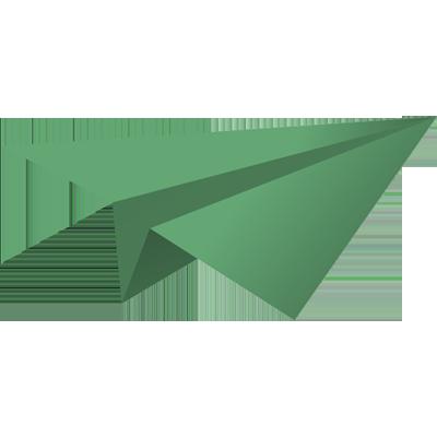 Origami repülő