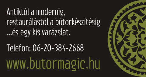 Bútor Magic autómatrica, oldalsó ablakok, 2011.